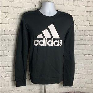 Adidas sweatshirt BIG LOGO Black Medium NWT